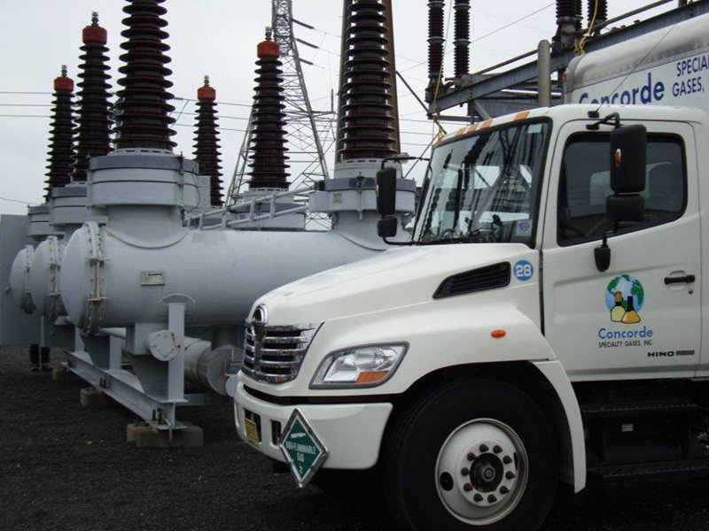 Electric and Utility companies SF6 field service