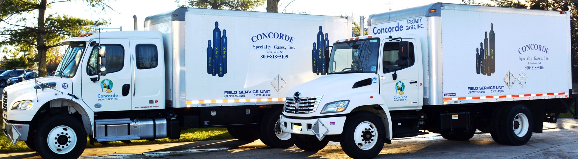 SF6 Gas global provider - Concorde Specialty Gases, Inc., 36 Eaton Road, Eatontown, NJ 07724 USA