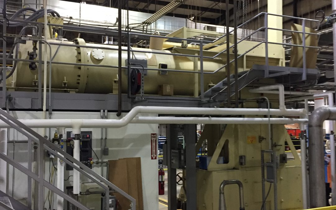 Concorde Specialty Gases was contracted by E-Beam to recover 1,100 lbs. of SF6 from 1.5MeV Dynamitron Electron Bean Accelerator.
