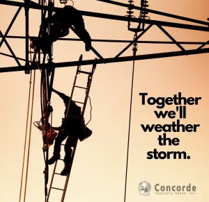 Concorde partners together we will weather the storm